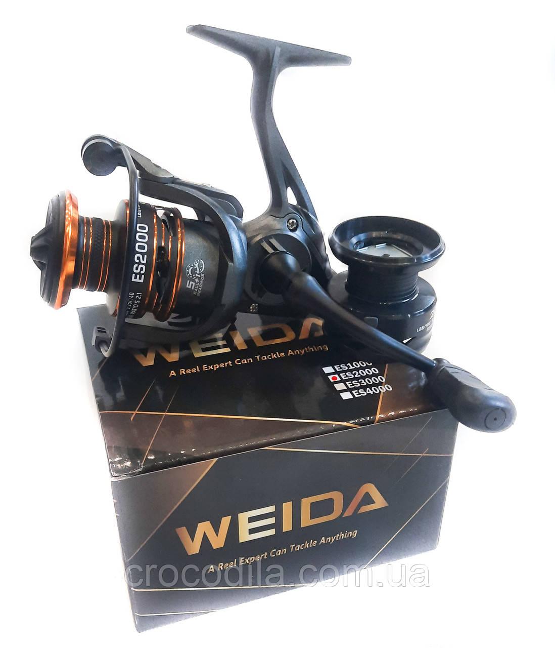 Спиннинговая котушка Kaida ( Weida) ES 2000 5+1