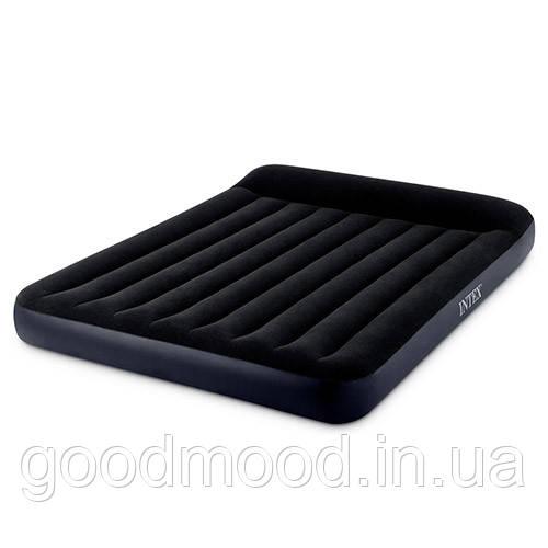 Велюр матрац 64143 чорний, кор., 152-203-25 см.