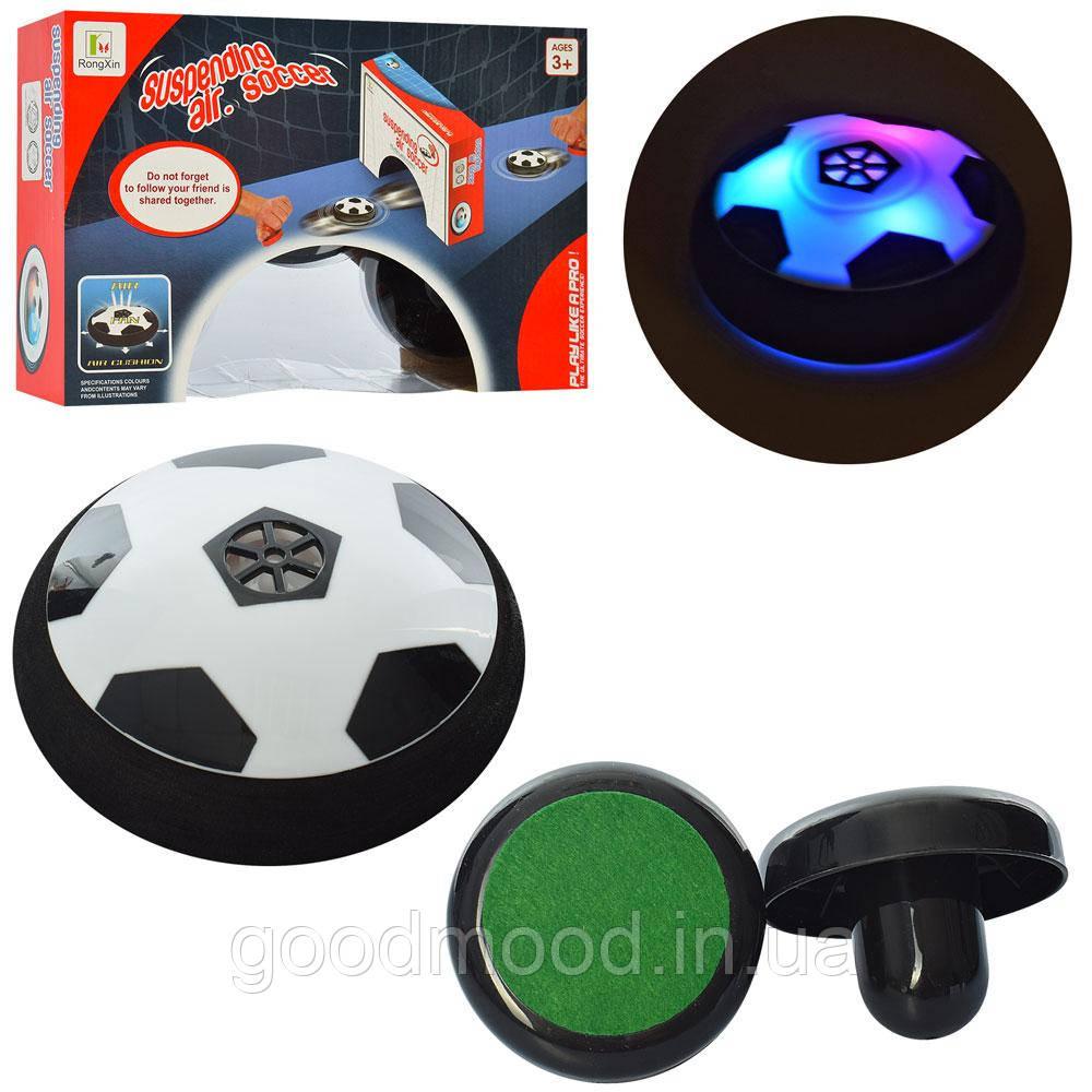 Гра M 5703 футбол, аером'яч, світло, бат., кор., 26,5-18-7 см.