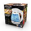 Електрочайник ADLER AD 1274 White, фото 5