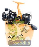 Спиннинговая катушка  Kaida ( Weida) EW 1000  5+1, фото 1