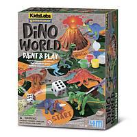 Игровой набор Мир динозавров 4M (00-03400), фото 1