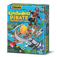 Електронна настільна гра 4M Полювання за скарбами піратів (00-03436)