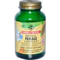 Травяной комплекс для женщин, Solgar, 50 капсул, скидка