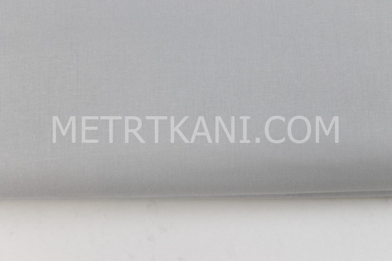 Клаптик. Польська бязь,бавовна сірого кольору 135 г/м2 , 62*80 см