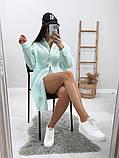 Жіноча красива пляжна туніка - сорочка, розміри 42-48,50-56, багато кольорів, фото 4