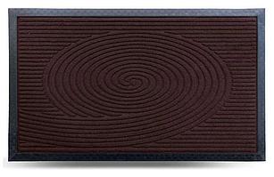 Коврик придверный MX-S, коричневый, 45х75 см