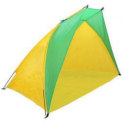 "Пляжная палатка ""Ракушка"" Melad WM-0T103 жёлто-салатовый (14952)"