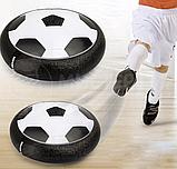 Літаючий футбольний м'яч Hover ball mini чорний, фото 2