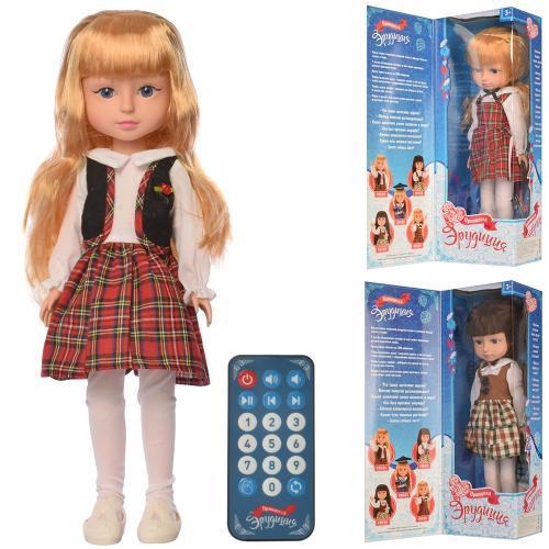 Лялька F05-01-04-05 шарнірна, інтерактивна, 3 види