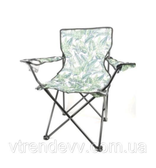 Складной стул для пикника с подлокотником Styleberg 50/50/80см камуфляж