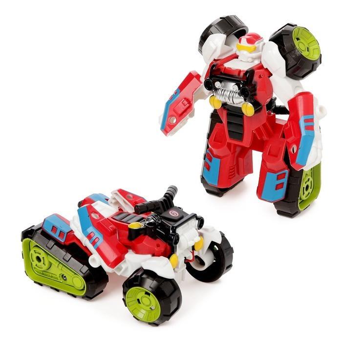 Игрушечный трансформер 675-9 робот+квадроцикл (Красный)