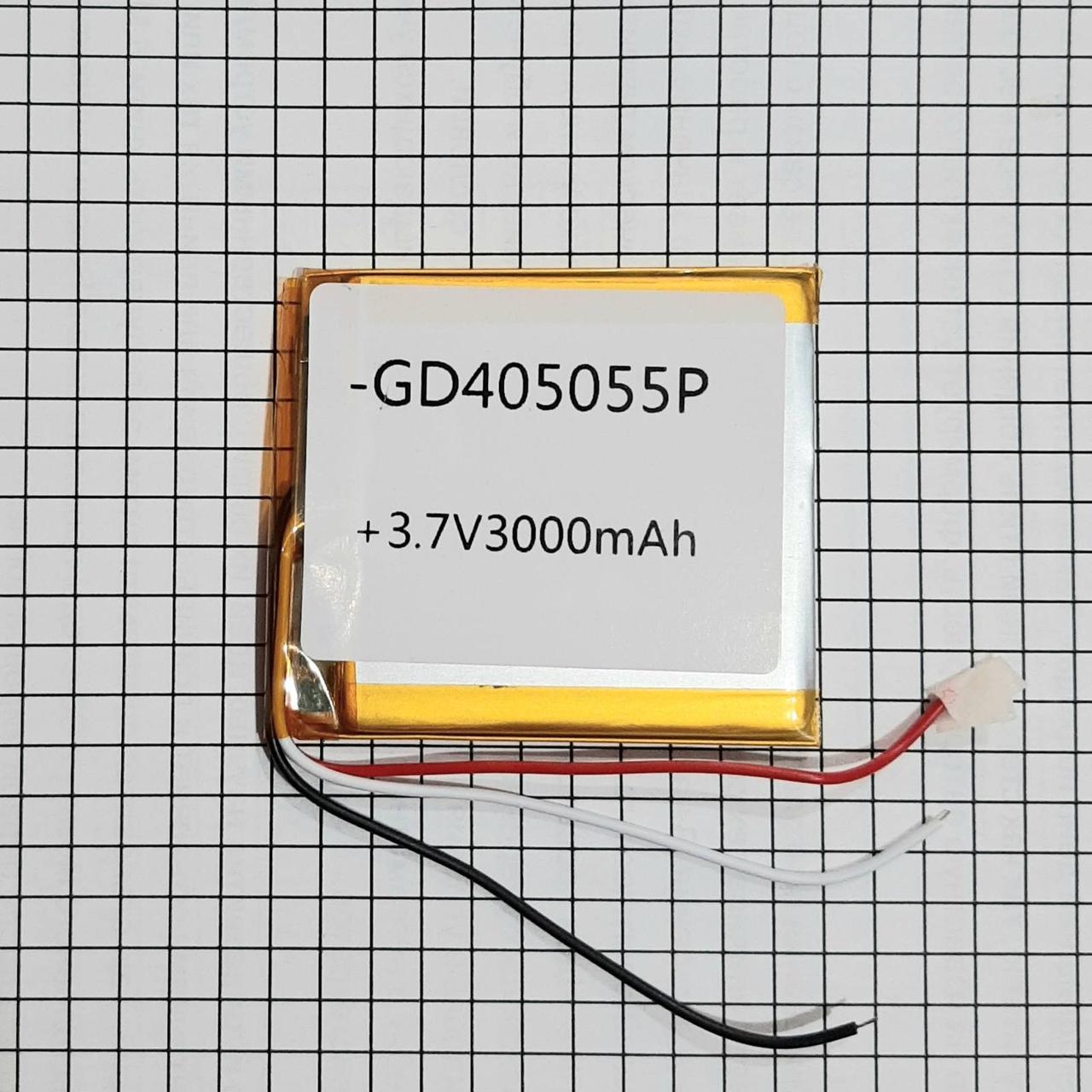 Литий полимерный аккумулятор 045055 3000mah