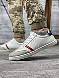 Кросівки чоловічі 18712, білі, [ 42 43 44 45 ] р. 42-28,0 див., фото 9