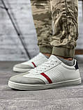 Кросівки чоловічі 18712, білі, [ 42 43 44 45 ] р. 42-28,0 див., фото 10