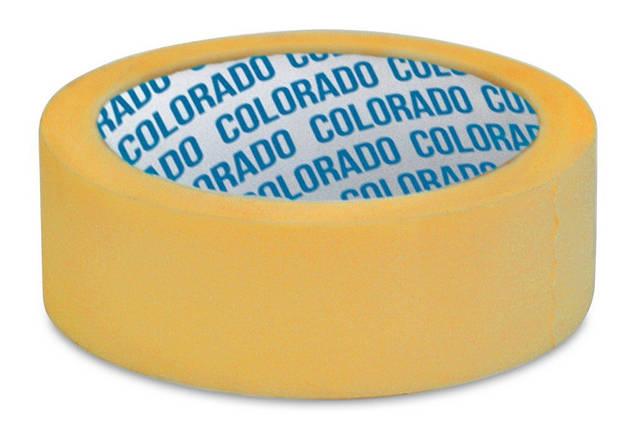 Стрічка малярна Colorado сильна фіксація 75 мм х 40 м (10-062), фото 2