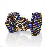 Конструктор Неокуб в боксе Neocube 216 магнитных шариков 5 мм, фото 8