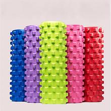 Ролер масажний, фоам ролер, Foam Roller, фітнес валик, йога ролик, 45х15 см