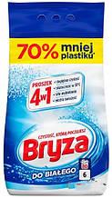 Порошок для стирки белого белья Bryza proszek do bialego 4w1 6 кг
