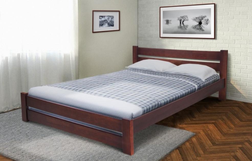 Підліткова дерев'яне ліжко - Глорія 160*200