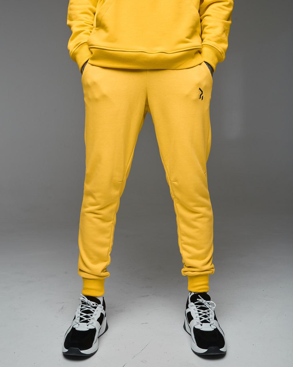 Cпортивные штаны Пушка Огонь Jog 2.0 желтые