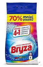 Порошок Бриза для стирки цветного белья Bryza do Coloru 4w1 6 кг