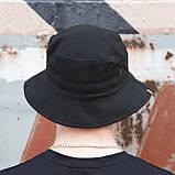 Панама унисекс Пушка Огонь Hat черная, фото 3
