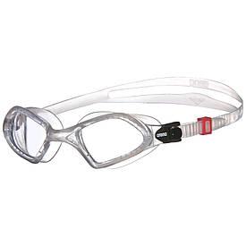 Плавальні окуляри для тріатлону Arena Smartfit прозорі з прозорими лінзами