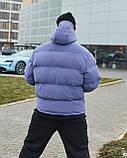 Зимова чоловіча куртка Гармата Вогонь Homie Silk місячний індиго, фото 3