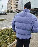 Зимова чоловіча куртка Гармата Вогонь Homie Silk місячний індиго, фото 5