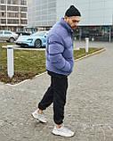 Зимова чоловіча куртка Гармата Вогонь Homie Silk місячний індиго, фото 8