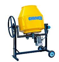 Бетономешалка Скиф БСМ Стандарт 130 литров (Мотор 600 Вт)