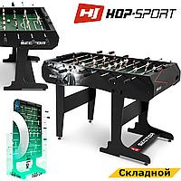 Настільний футбол Hop-Sport Sector Чорний з червоним Складаний для офісу та дому
