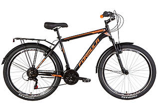 "Велосипед міської 26"" Formula Magnum 2021 рама 19"" чорно-помаранчевий"