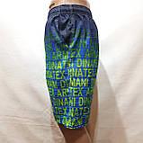 Чоловічі літні пляжні шорти з боковим кишенею сіткою, фото 3