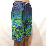 Чоловічі літні пляжні шорти з боковим кишенею сіткою, фото 4