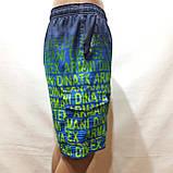 Чоловічі літні пляжні шорти з боковим кишенею сіткою, фото 6