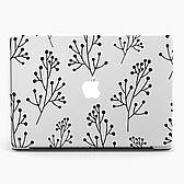 Чехол пластиковый для Apple MacBook Pro / Air Паттерн растения (Pattern plants) макбук про case hard cover