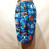Мужские летние шорты пляжные с сеткой, фото 4