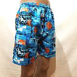 Мужские летние шорты пляжные с сеткой, фото 3