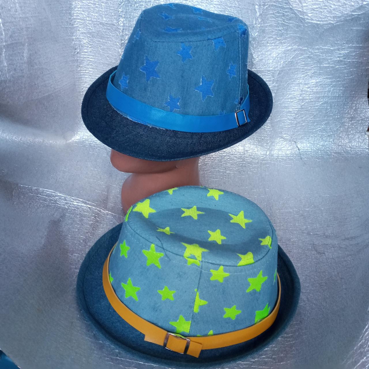 Шляпка летняя звездочка