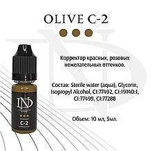 Коректор для пигментов перманетного макияжи Olive C-2