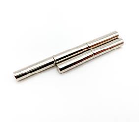 Польский неодимовый магнит-стержень 5мм*20мм, 1,2 Кг, N42