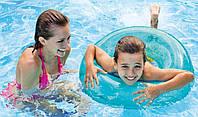 Надувний круг для плавання прозорий Intex 59260, фото 1