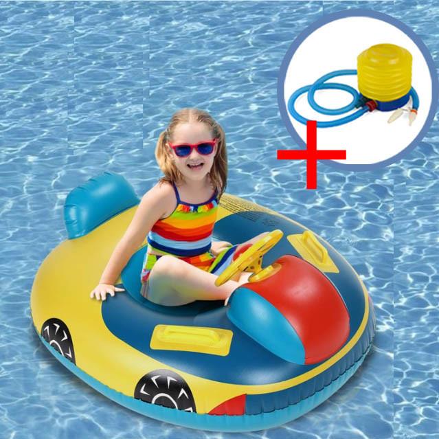 Комплект Надувний круг для дітей + насос ножний (КНД-1+ВН-2)