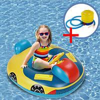 Комплект Надувний круг для дітей + насос ножний (КНД-1+ВН-2), фото 1