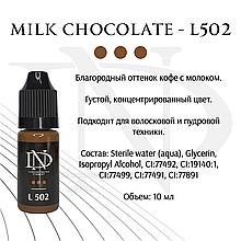 Пигмент для бровей Milk Chocolate - L502