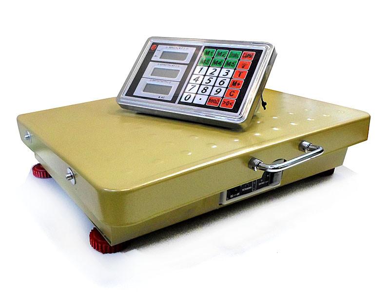 Ваги електронні торгові WIFI 600кг 45х60см 4В gold BITEK YZ-WIFI 1шт 9410