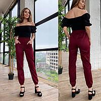 Яркие летние брюки-джоггеры для женщин