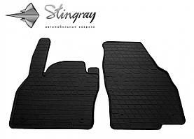 Передние автомобильные резиновые коврики (2 шт) для  SEAT Ibiza V (2017-...)